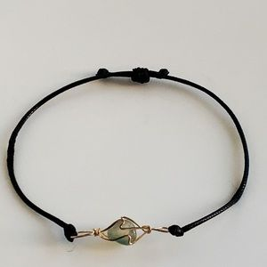 Jewelry - Handcrafted Green/Grey Natural Stone Bracelet